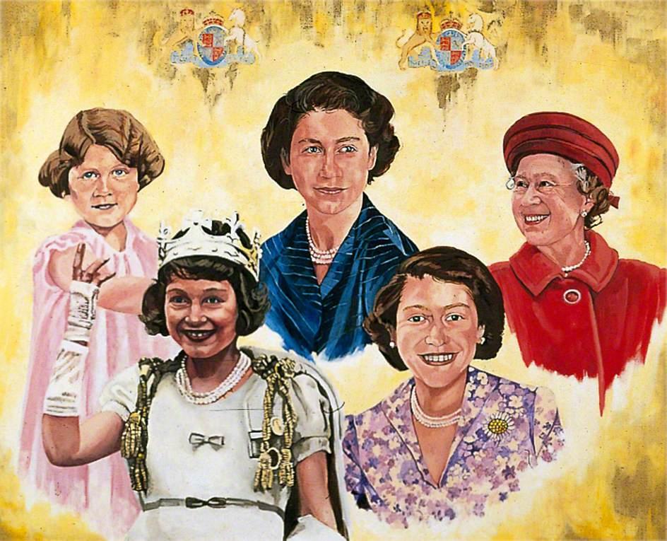 Queen Elizabeth II (b.1926), Golden Jubilee
