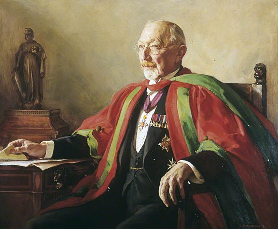 Sir Arthur Mayo-Robson (1853–1933)