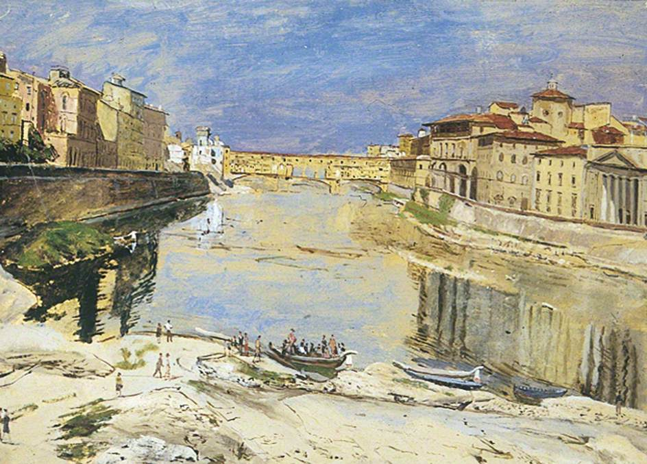 The Ponte alle Grazie, Florence, Italy
