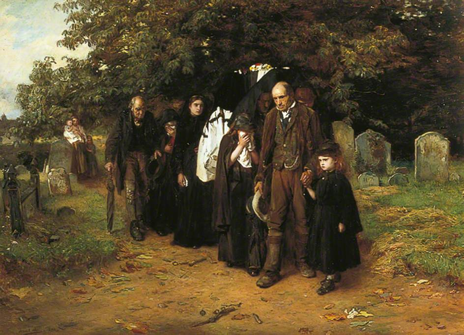 'I am the resurrection and the life' (The Village Funeral)
