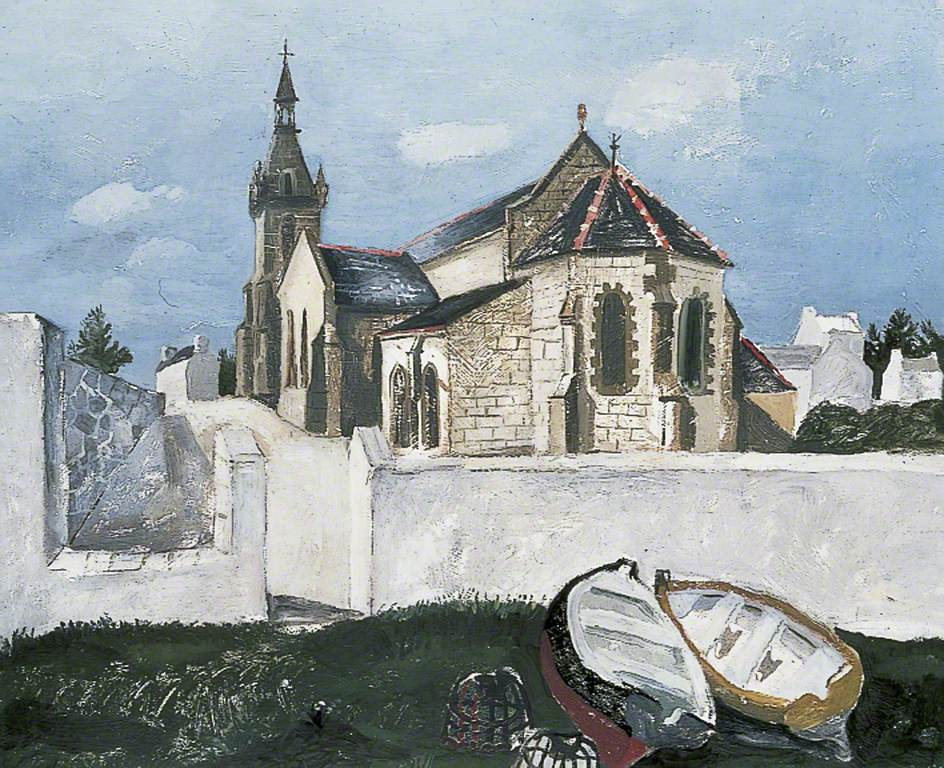 Tréboul Church, Brittany, France