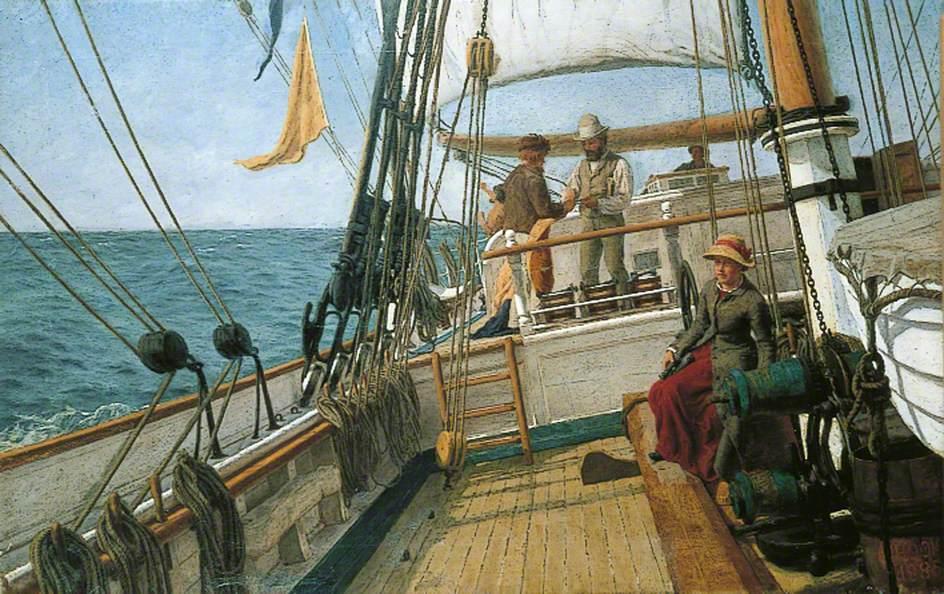 Conversation at Sea