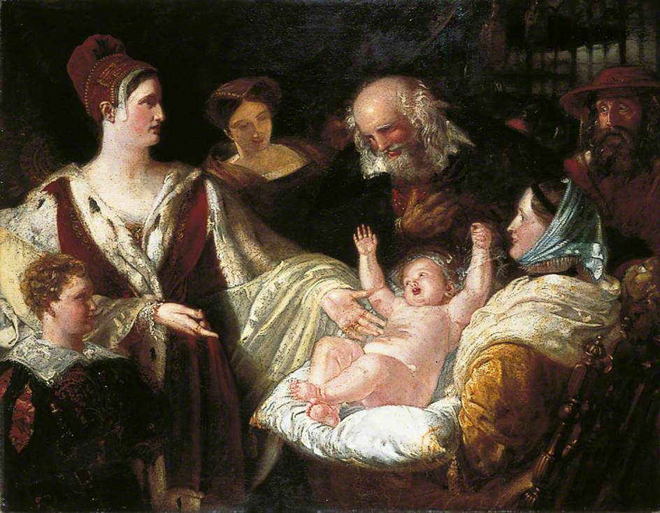 Mary, Queen of Scots When an Infant