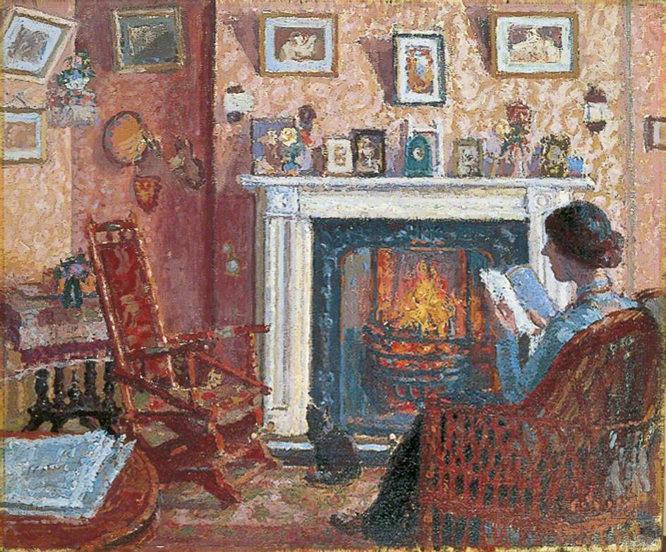 Interior, 31, Mornington Crescent, London