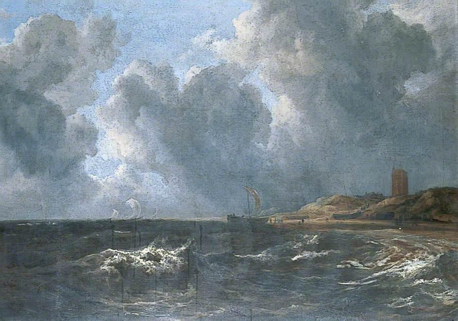 Storm off Egmond-aan-Zee, The Netherlands
