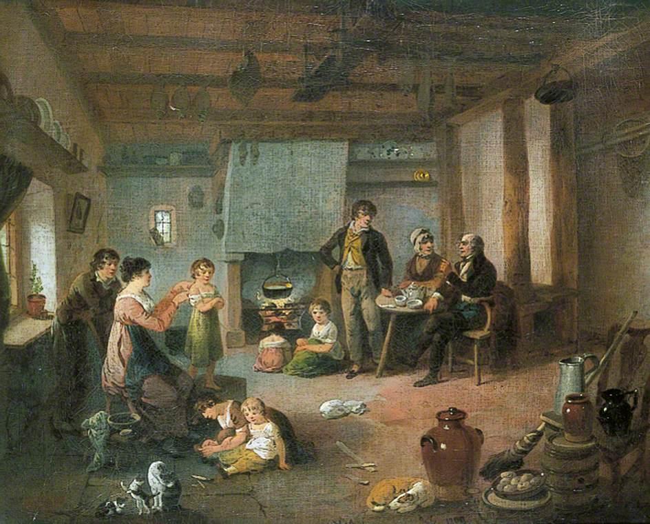 The Painter's Family at Masham, North Yorkshire