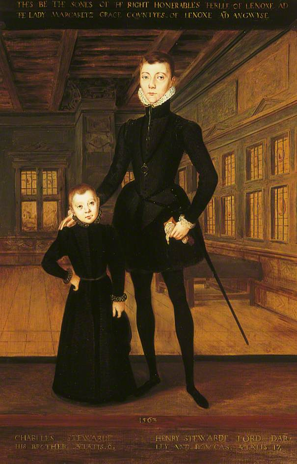 Henry Stuart (1545–1567), 1st Duke of Albany, 'Lord Darnley' and Charles Stuart (1555–1576), 1st Earl of Lennox