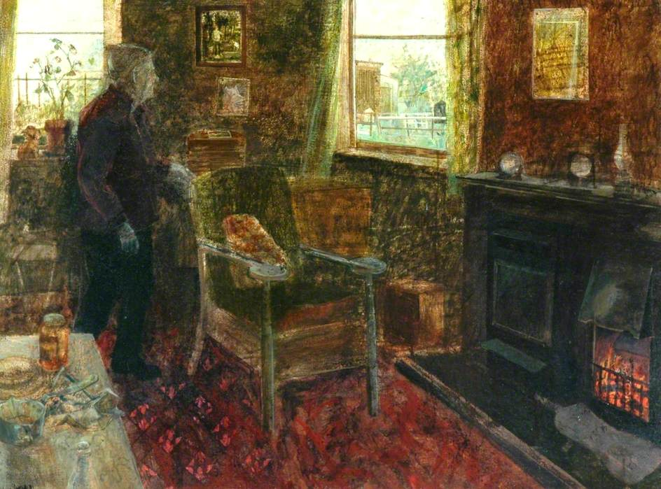 Interior, Monk Cottage