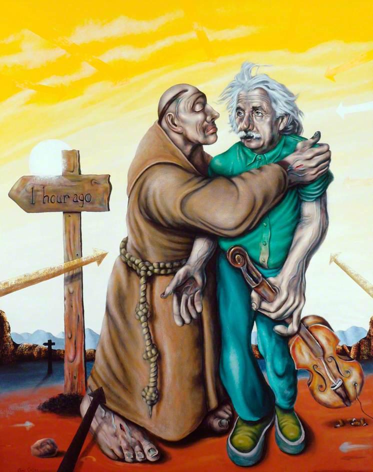 Einstein and the Jealous Monk